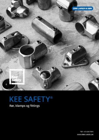 Download Kee Safety kataloget | Markedets største sortiment af samlefittings (pipe clamps) til vandrør | Erik Larsen & Søn